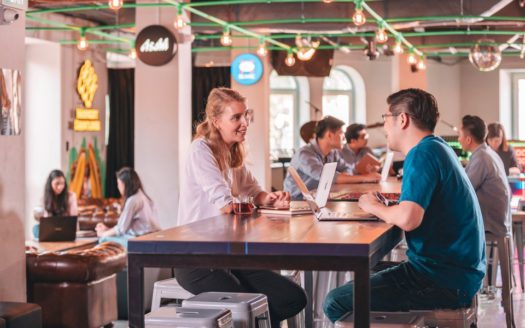 meet other freelancers and professionals at a coworking space as a foreigner in singapore